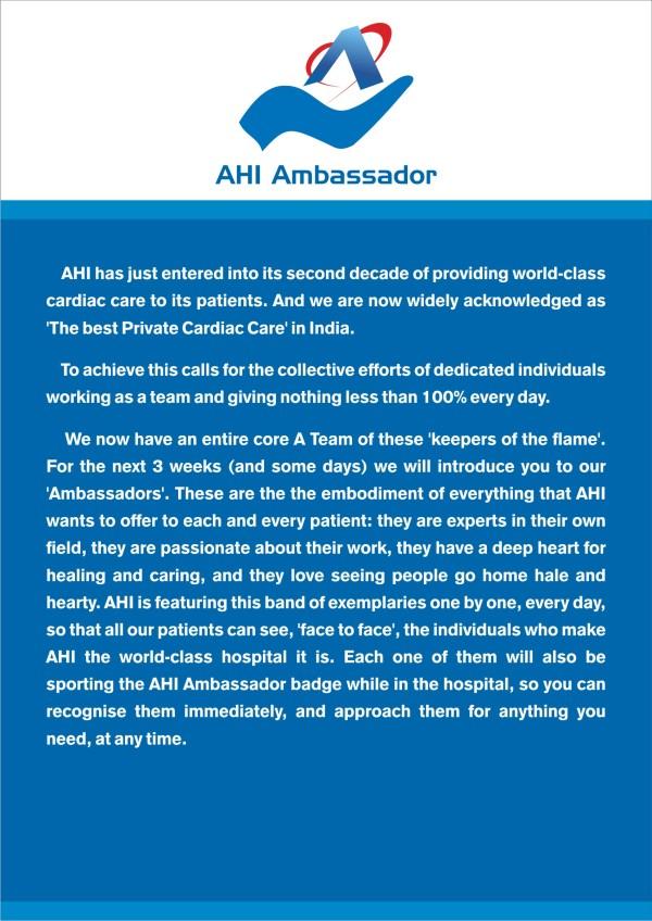 AHI Ambassador