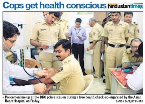 Mumbai cops get health conscious