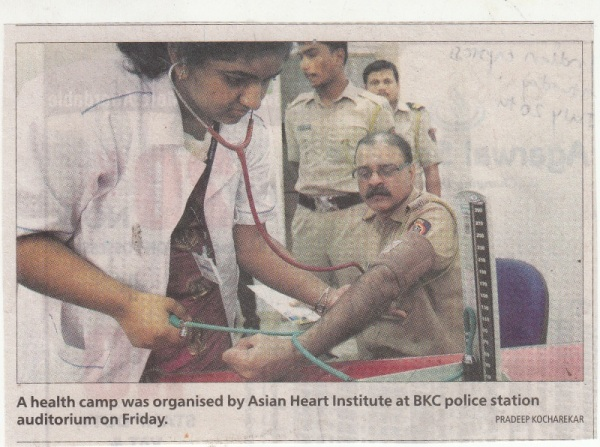 Health checkup camp at AHI